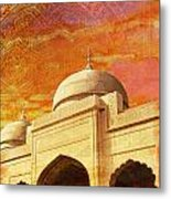 Moti Masjid Metal Print by Catf
