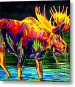 Motley Moose Metal Print