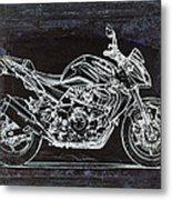 Moto Art 41 Metal Print