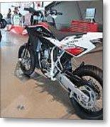 Motorbikes 1 Metal Print