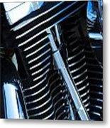 Motorcycle Engine Metal Print