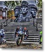 Motorcycle Rally 4 Metal Print