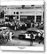 Motorcycle Rally Hollister California July 4, 1947 Metal Print