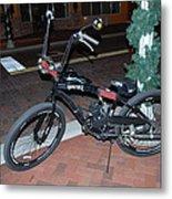 Motorized Bicycle Metal Print