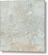 Mottled Beige Cement Metal Print