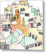 Moulay Idriss Metal Print