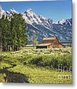 Moulton Barn Metal Print