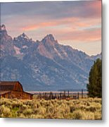 Moulton Barn - Grand Teton National Park Metal Print