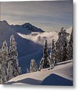 Mount Baker Snowscape Metal Print by Mike Reid