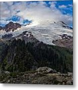 Mount Baker View Metal Print