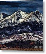 Mount Blanca Metal Print