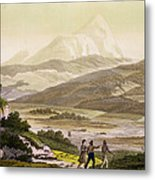 Mount Cayambe, Ecuador, From Le Costume Metal Print