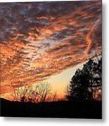 Mount Cheaha Sunset-alabama Metal Print