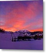 Mount Crested Butte 2 Metal Print