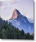 Mount Denman In Desolation Sound Marine Metal Print