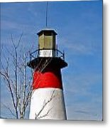 Mount Dora Lighthouse Close Up Metal Print