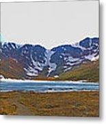 Mount Evans And Summit Lake Metal Print