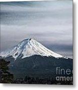Mount Fuji Japan Metal Print