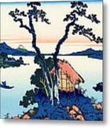 Mount Fuji Tranquility Metal Print