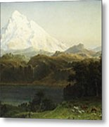 Mount Hood In Oregon Metal Print