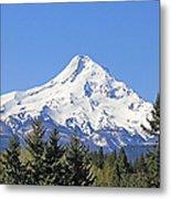 Mount Hood Mountain Oregon Metal Print by Jennie Marie Schell