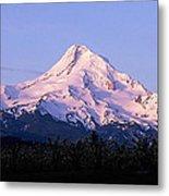 Mount Hood Oregon Metal Print