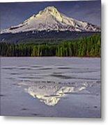 Mount Hood Reflections Metal Print