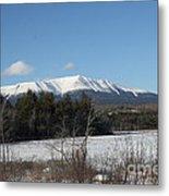 Mount Katahdin Winter 3 Metal Print