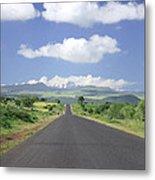 Mount Kenya Metal Print