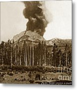 Mount Lassen Volcano California 1914 Metal Print