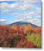 Mount Monadnock From Gap Mountain In Autumn Metal Print