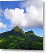 Mount Olomana Hawaii Metal Print