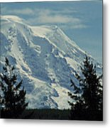Mount Rainier From Patterson Road Metal Print