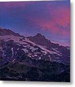 Mount Rainier Sunrise Metal Print