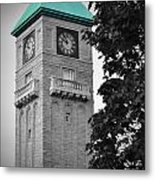 Mount Royal Teal Metal Print