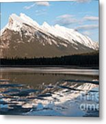 Mount Rundle Reflections Metal Print