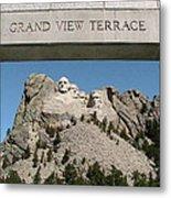 Mount Rushmore 3 Metal Print