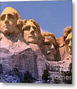 Mount Rushmore Metal Print by Olivier Le Queinec