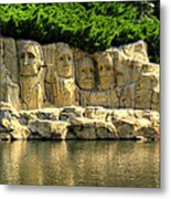 Mount Rushmore Metal Print by Ricky Barnard