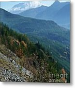 Mount Saint Helens Majesty Metal Print