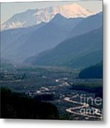 Mount Saint Helens Valley  Metal Print
