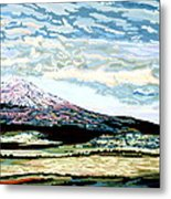 Mount Shasta California Metal Print