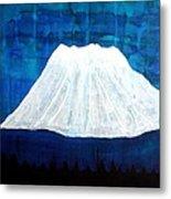 Mount Shasta Original Painting Metal Print