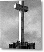 Mount Soledad Cross 2 Metal Print