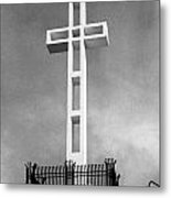 Mount Soledad Cross Metal Print
