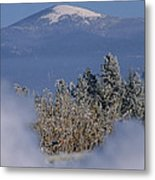Mount Spokane Metal Print