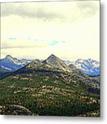 Mount Starr King Metal Print
