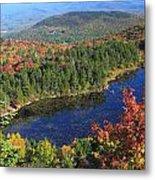 Mount Sunapee Lake Solitude Fall Foliage Metal Print
