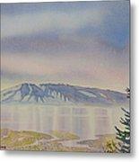 Mount Susitna Metal Print