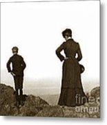 Mount Tamalpais Marin County California Circa 1902 Metal Print